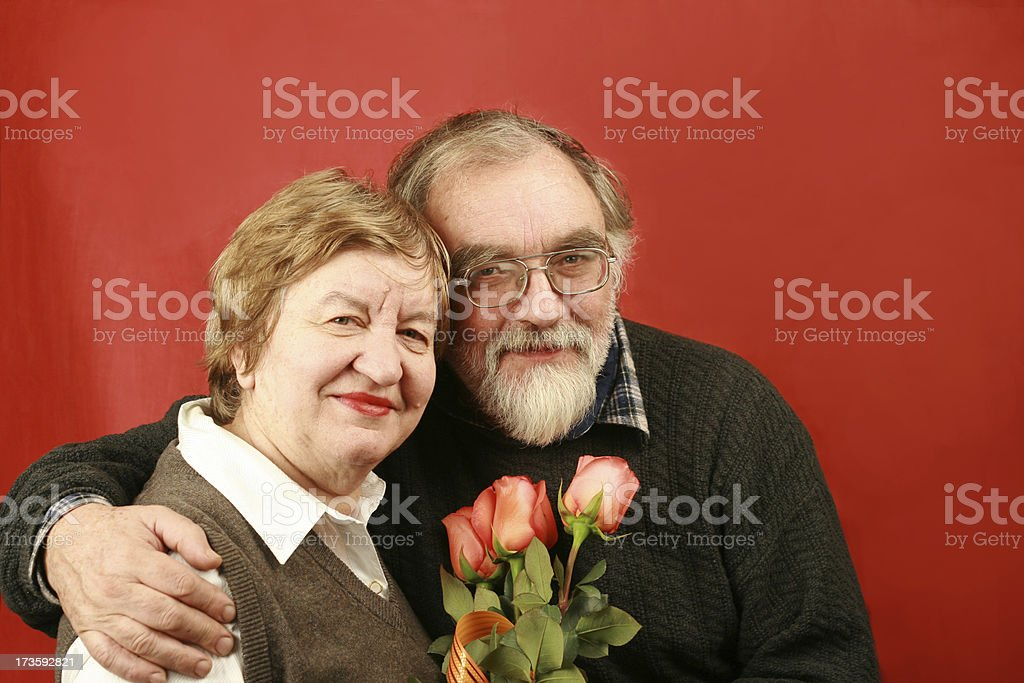 Long life together royalty-free stock photo