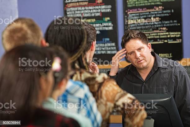 Long line at cafe picture id503026944?b=1&k=6&m=503026944&s=612x612&h=ydcof6fbz ezn7lobc7uidqfbrijgsf9n uxndffp28=