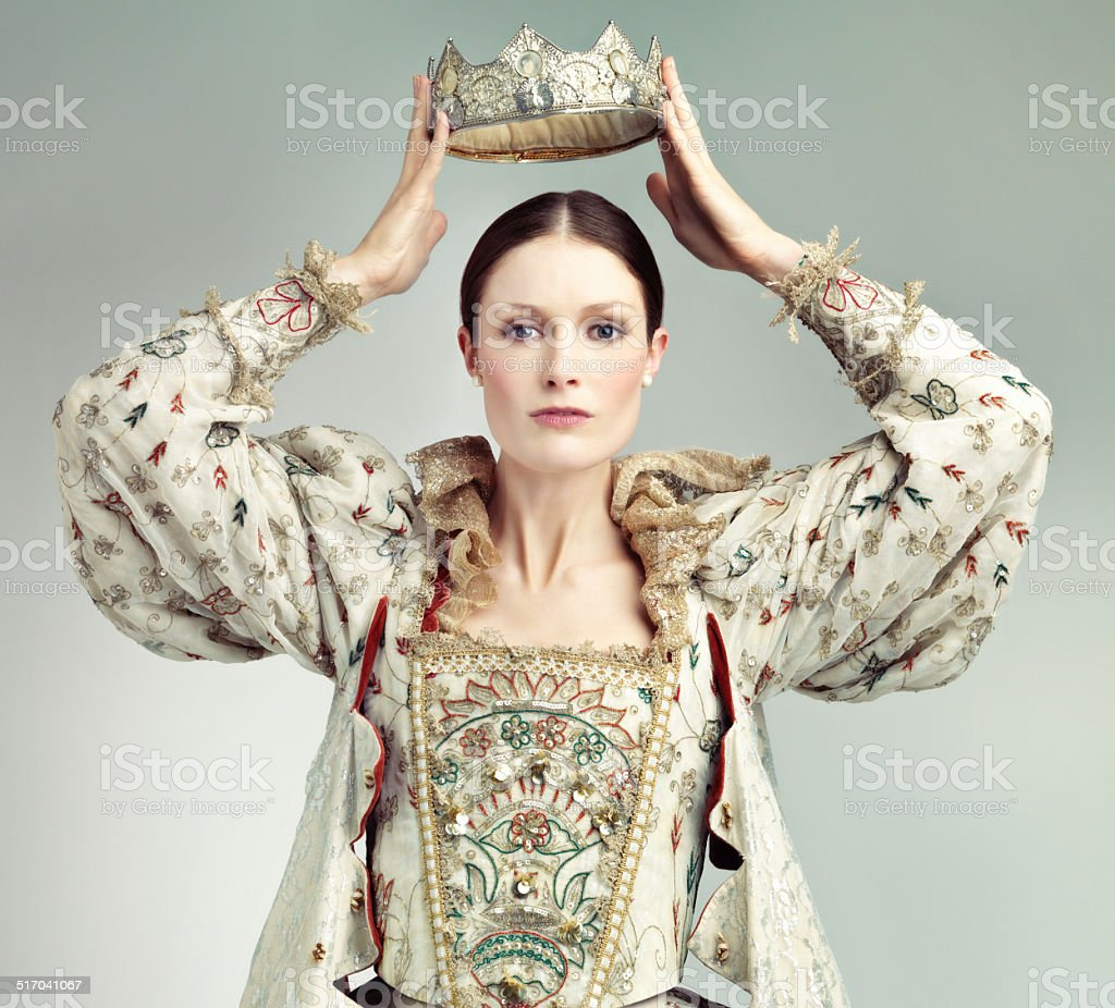 Long live the Queen! stock photo