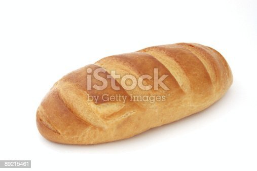 628409126istockphoto Long loaf Isolated 89215461