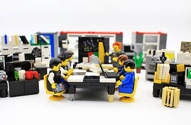 long meeting stock photo