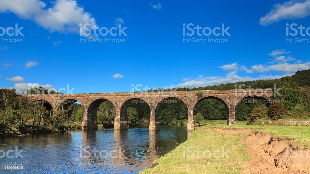 Long Meg Viaduct stock photo
