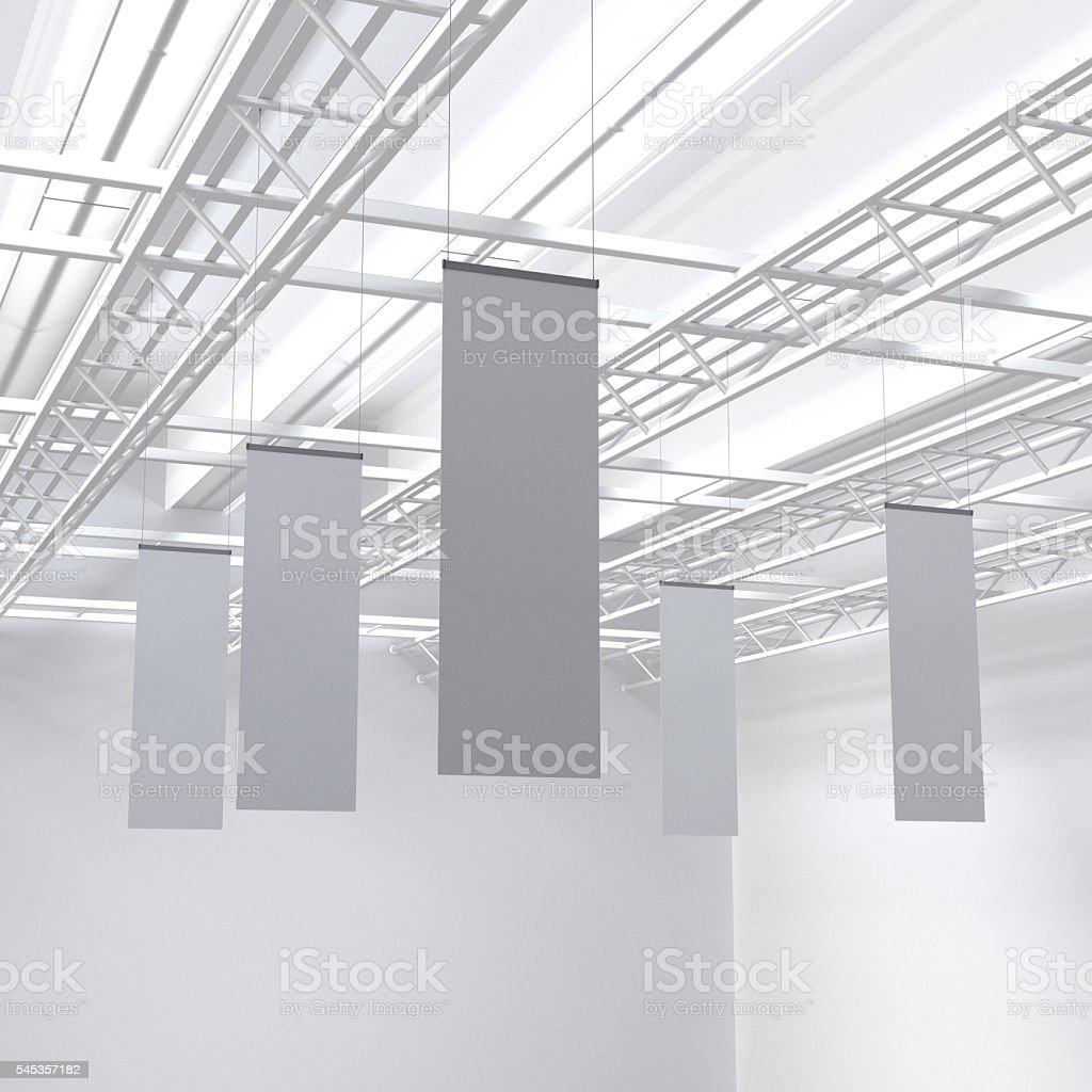 long posters stock photo