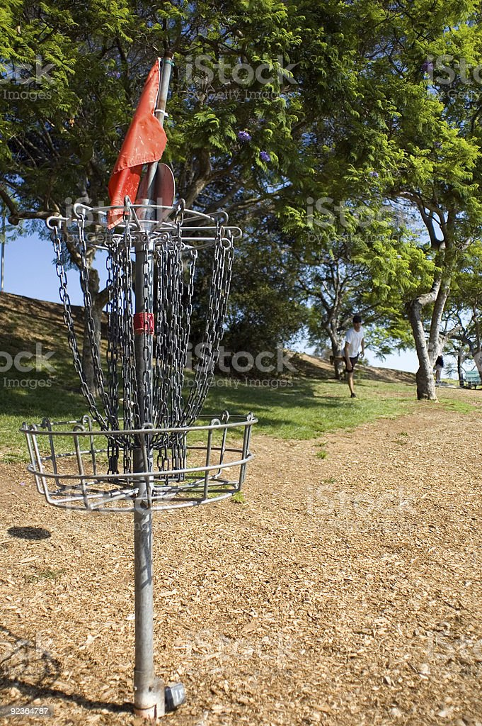 Long Putt! royalty-free stock photo