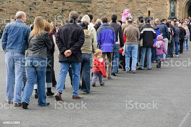 long-queue-of-people-picture-id458542889