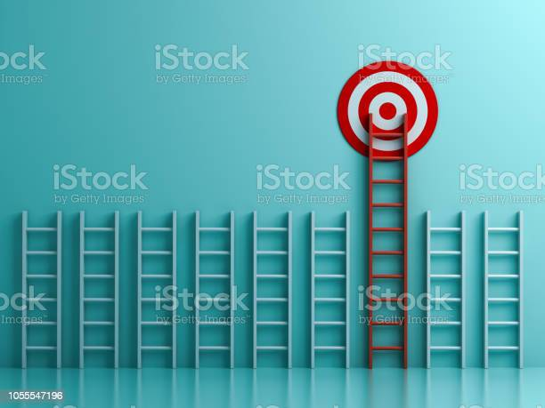 Long red ladder to goal target the business concept on blue pastel picture id1055547196?b=1&k=6&m=1055547196&s=612x612&h=tbpb7zfdeevy8nhi2y7u14tmmoachy2g4cr r4hoixu=