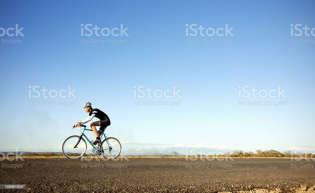Long ride stock photo