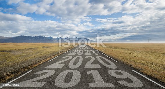istock LOng Road in Iceland 1185735060