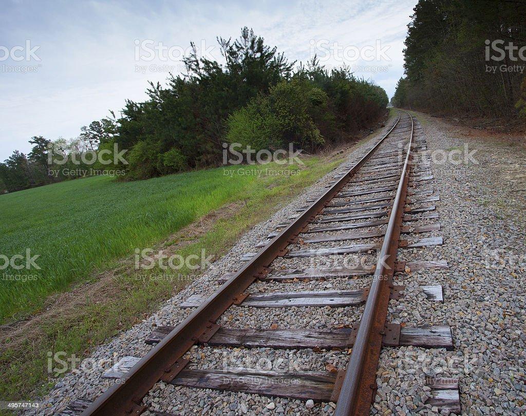 Long road stock photo