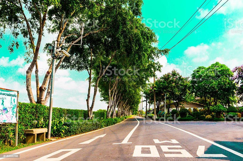 ロング road ストックフォト