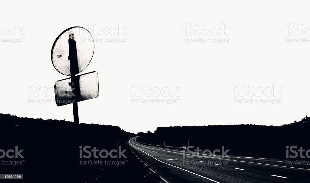 Long road foto stock royalty-free