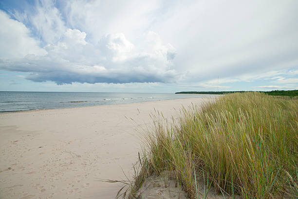 Lange Sandstrand in sweden.GN – Foto