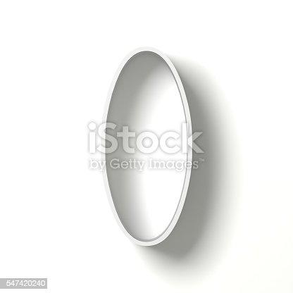 845307368 istock photo Long shadow digit. Number ZERO 0. 3D 547420240
