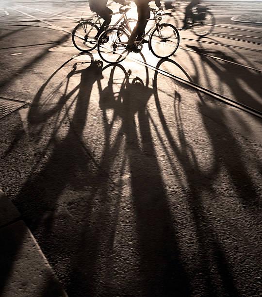 Fahrradfahrer – Foto