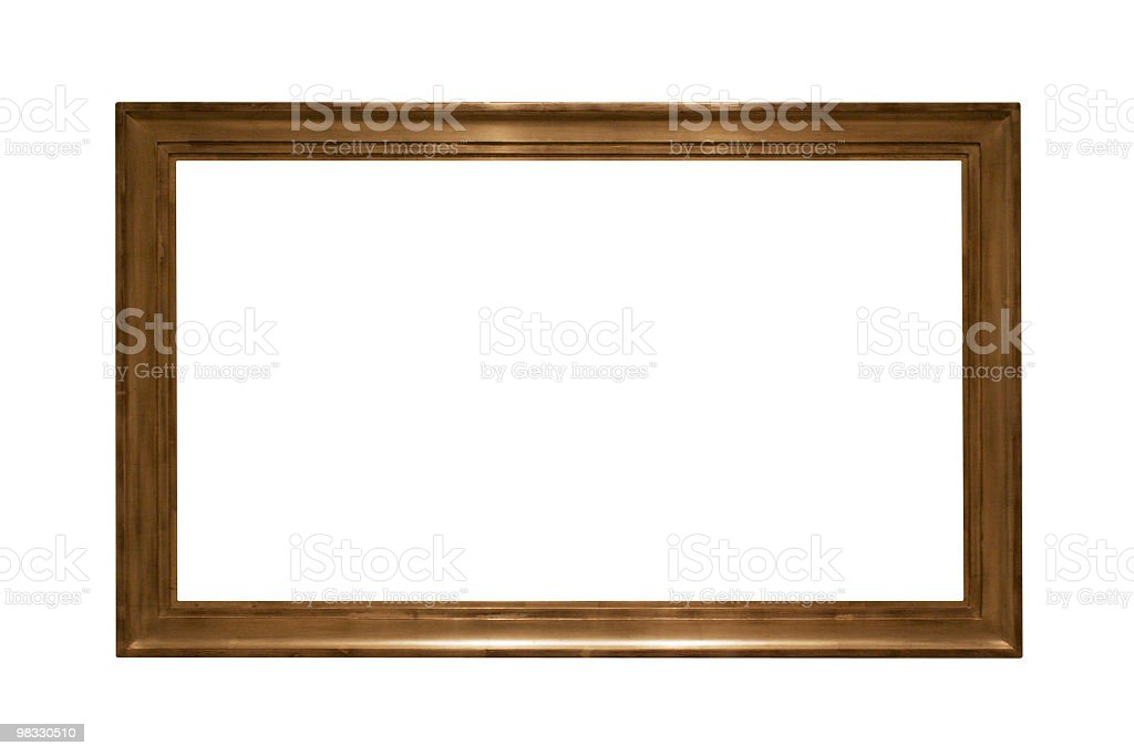 Long shaped frame to use in your design royalty-free stock photo