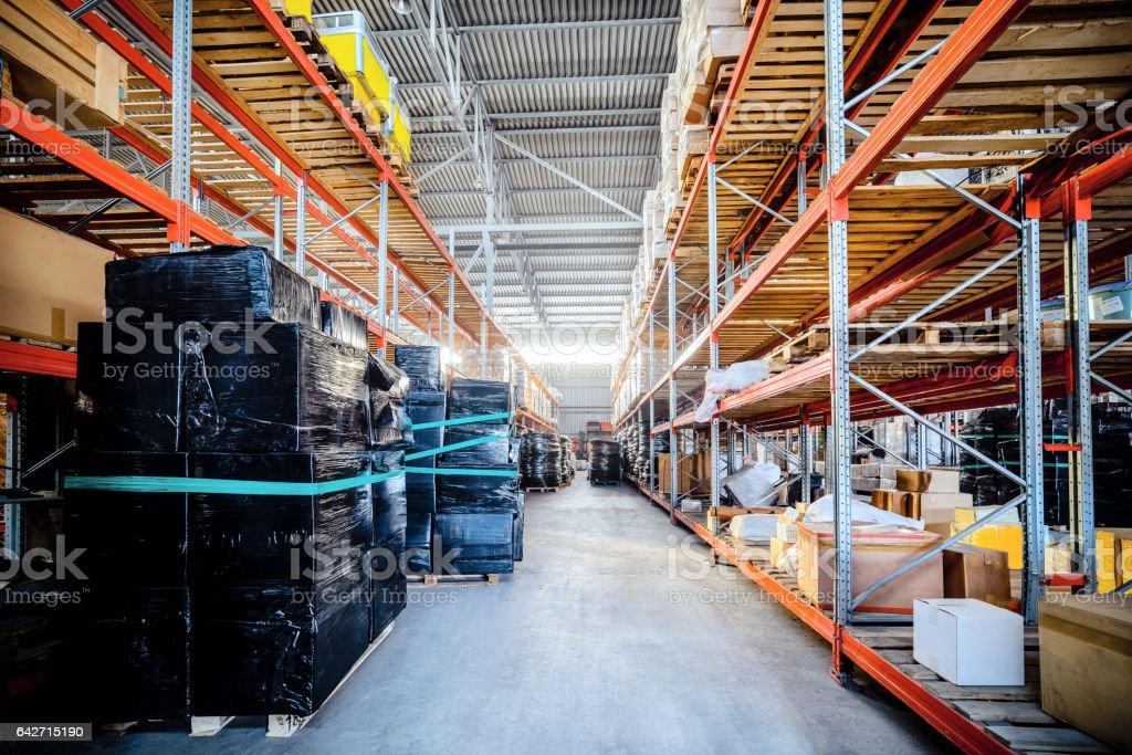 Large hangar warehouse industrial and logistics companies....