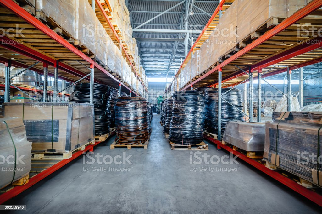 Warehouse industrial and logistics companies. Coiled plastic pipe....