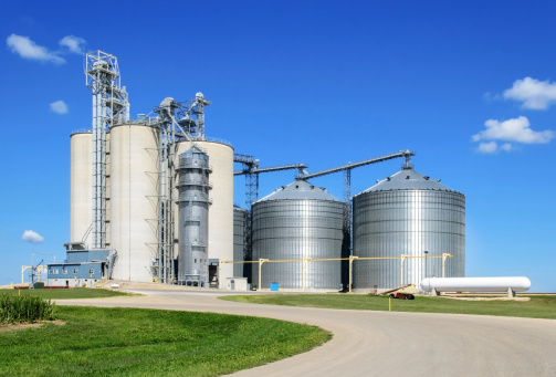 Grain Elevator at Wisconsin location