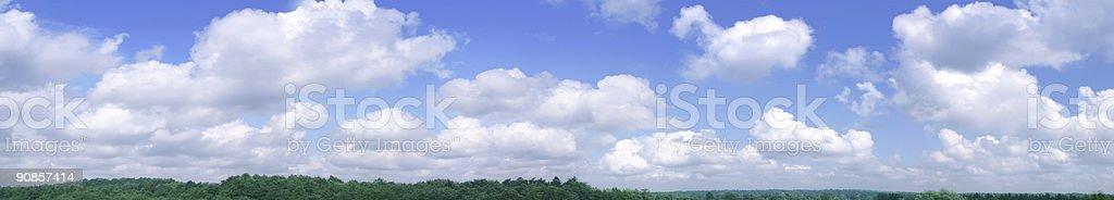 long sky royalty-free stock photo