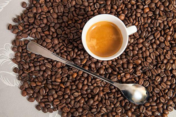 Długie łyżką na kawę latte i małe espresso WPR. Informacje ogólne – zdjęcie