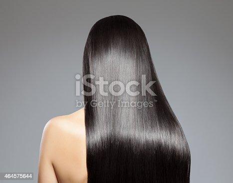 istock Long straight hair 464575644
