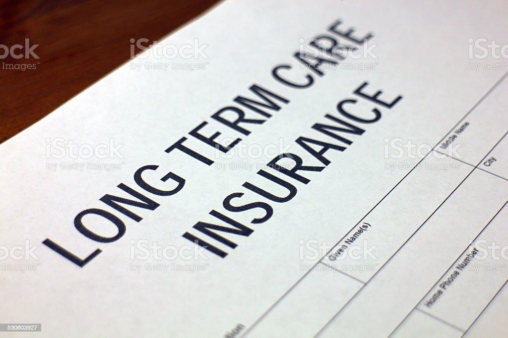 Long Term Care stock photo