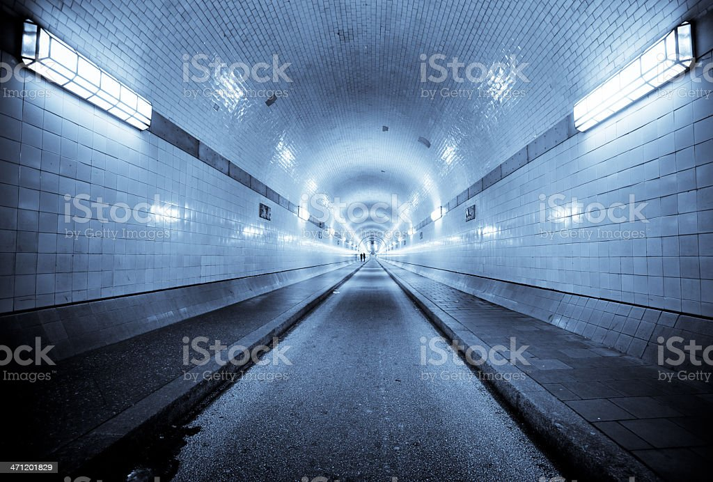 Long Tunnel royalty-free stock photo