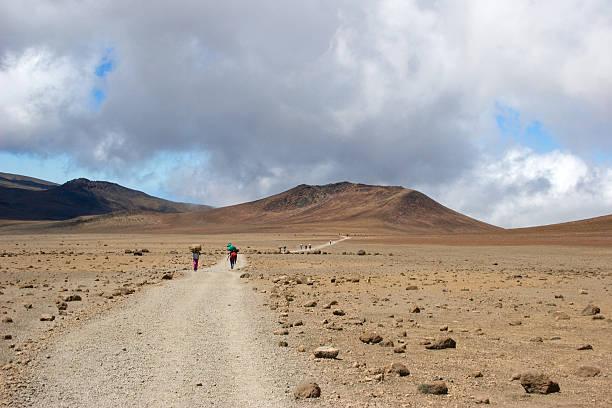 Long Walk in Africa foto