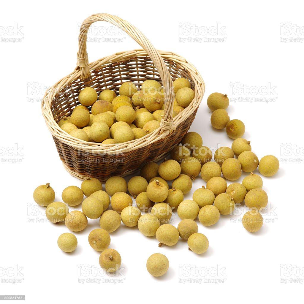 longan - exotic fruit; stock photo