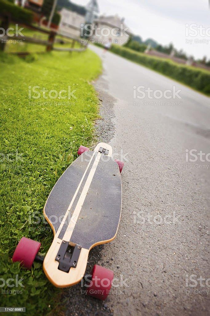 Longboarding royalty-free stock photo