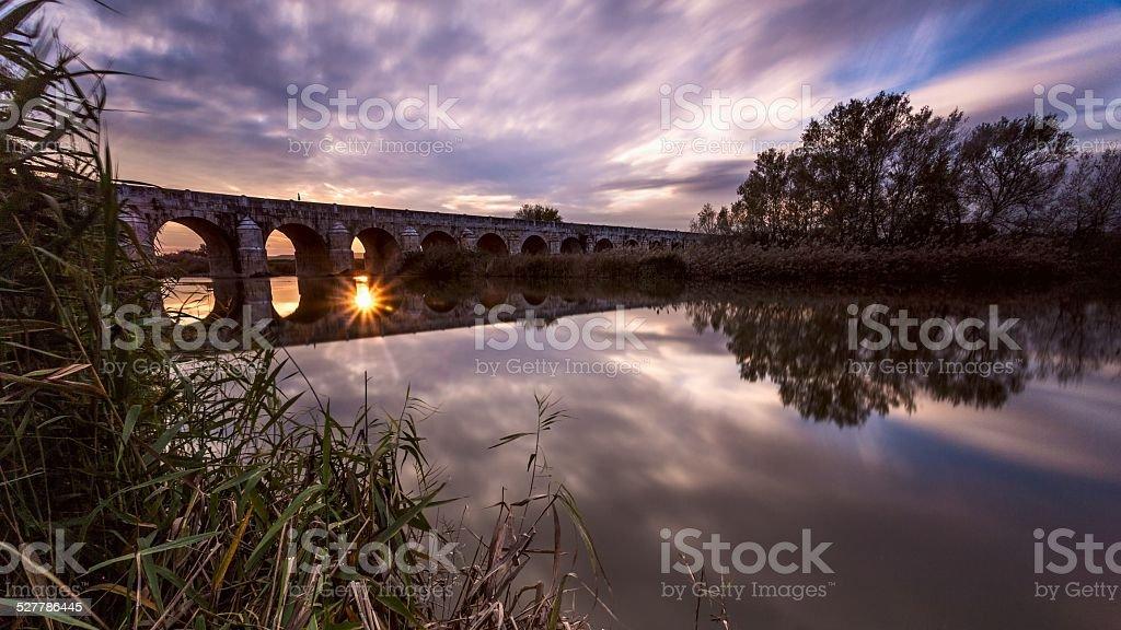 Puente en Aranjuez más. España - foto de stock