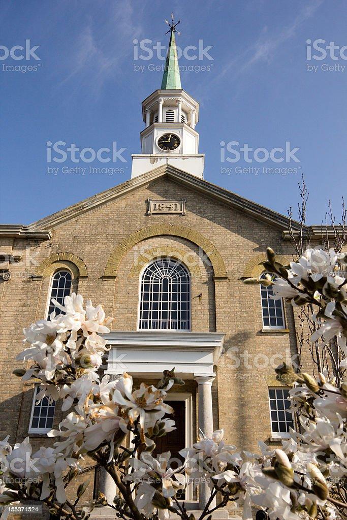 Longham United REformed Church in Dorset, England royalty-free stock photo