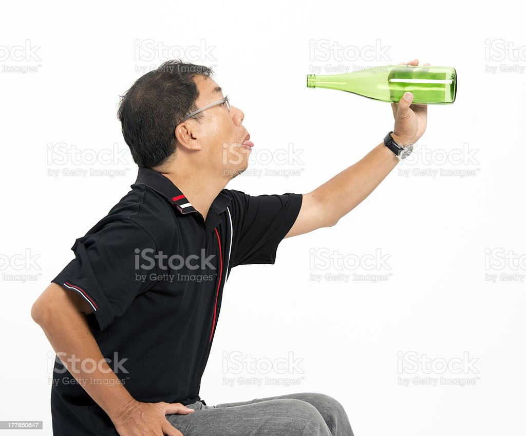 Longing for more royalty-free stock photo
