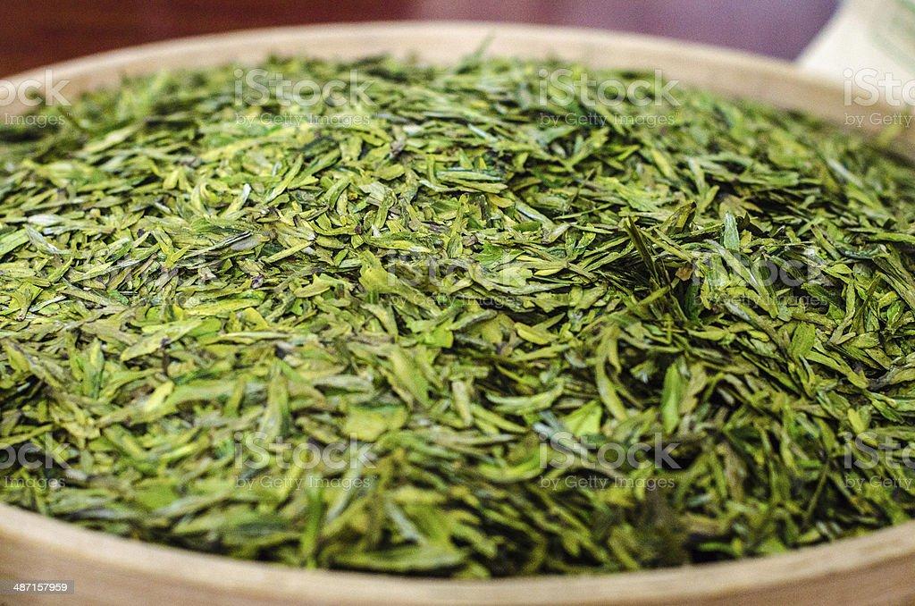 Longjing Tea - First Pick stock photo