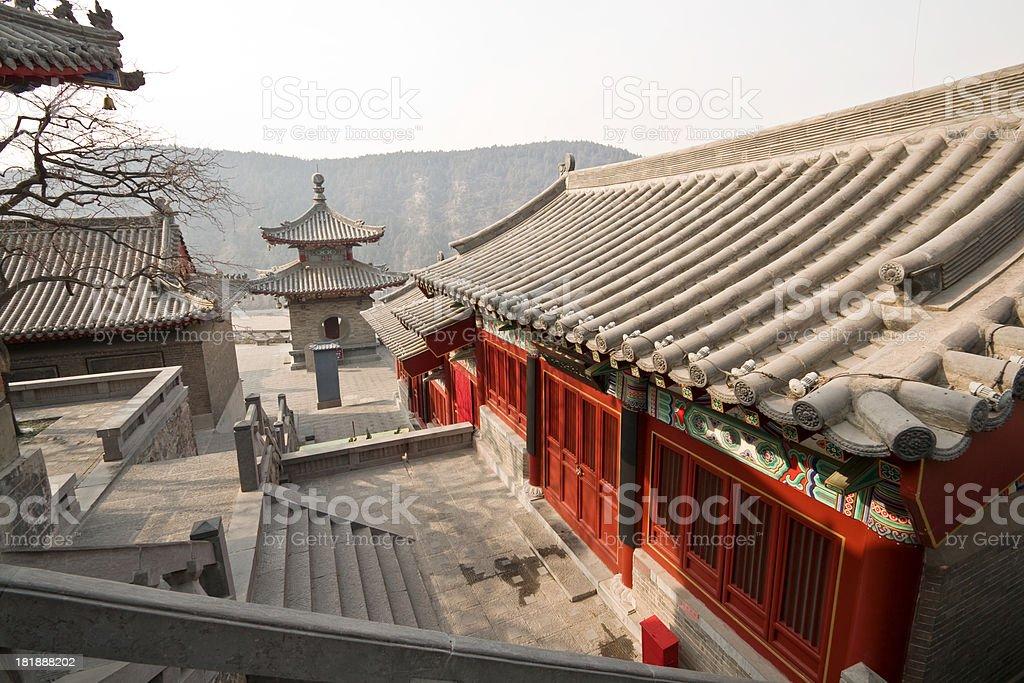 Longmen Grottoes - Luoyang stock photo