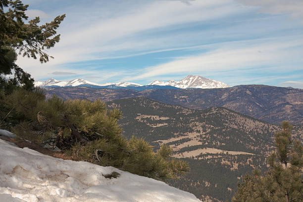 Longs Peak stock photo