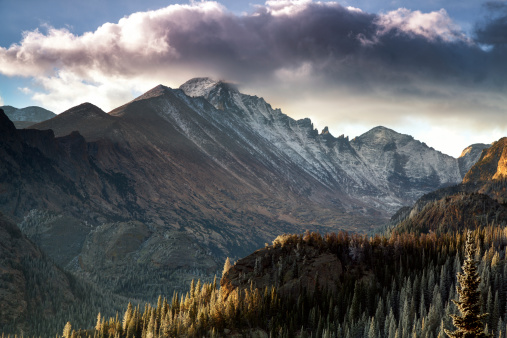 Longs Peak Rocky Mountain National Park Stock Photo - Download Image Now