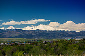 istock Longs Peak Spring Clouds Wide 848005786
