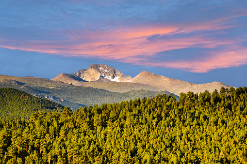 Longs Peak at Sunrise