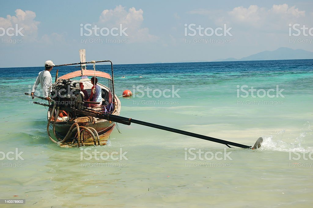 Longtail Boat, Thailand royalty-free stock photo