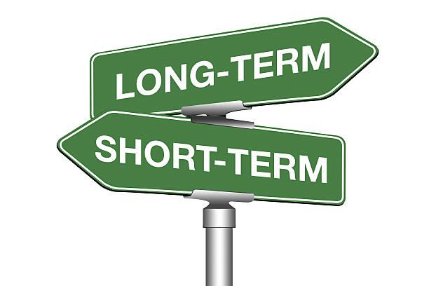 Long-Term and Short-Term stock photo