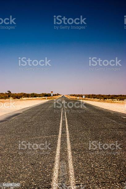 Lonley road in the outback