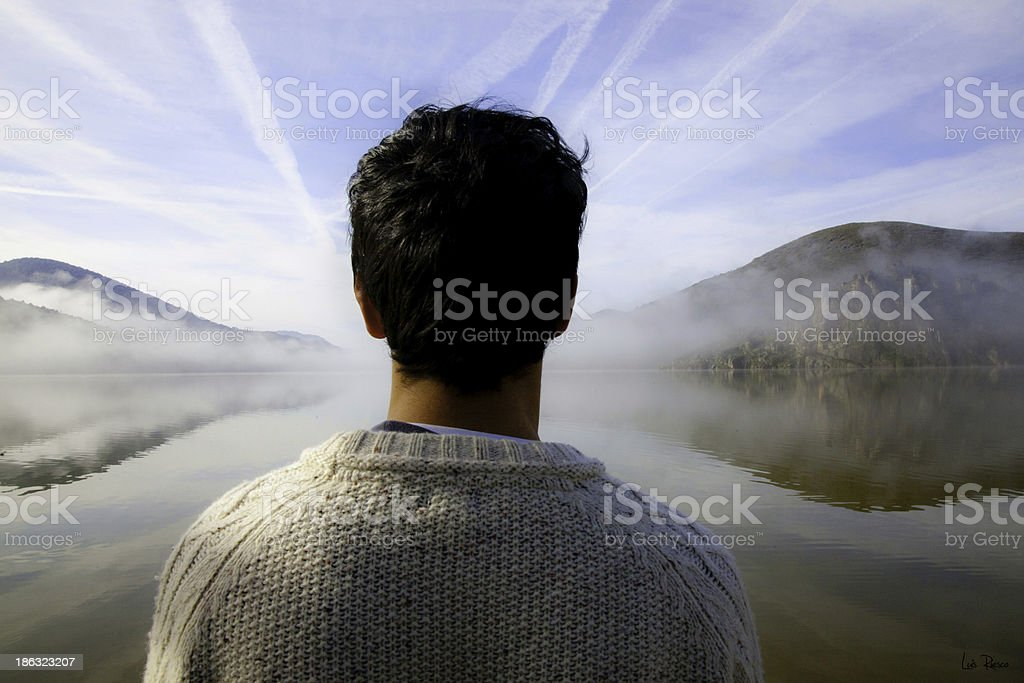 Look at life stock photo