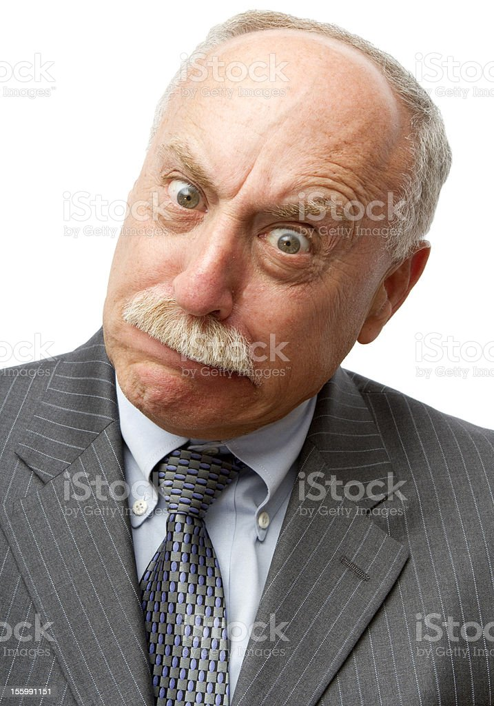 Look At That Face royalty-free stock photo