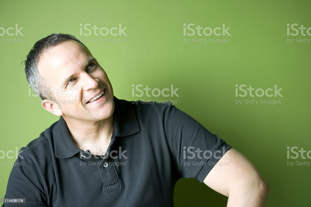 Look at that stock photo