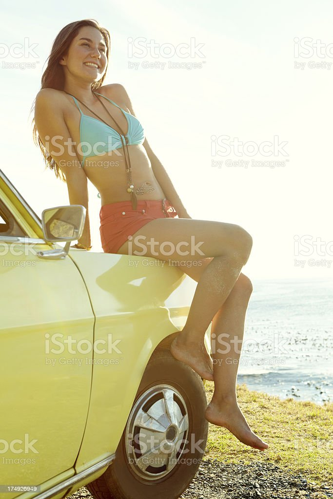 Look at that view! royalty-free stock photo