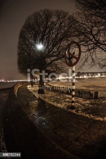 istock A look at the night St. Petersburg through a wide-angle lens 896752244