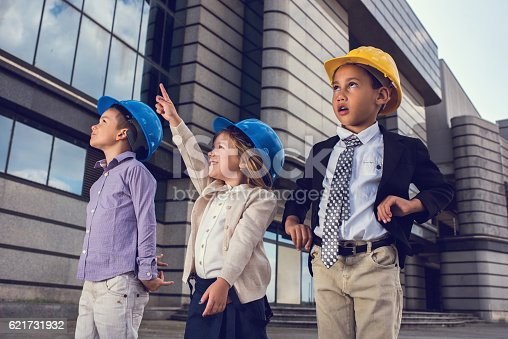 643843490istockphoto Look at the top of the building! 621731932
