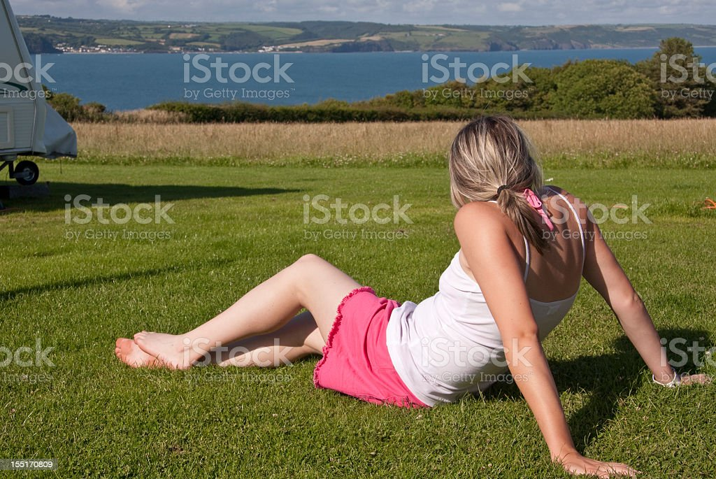 Look at the view royalty-free stock photo