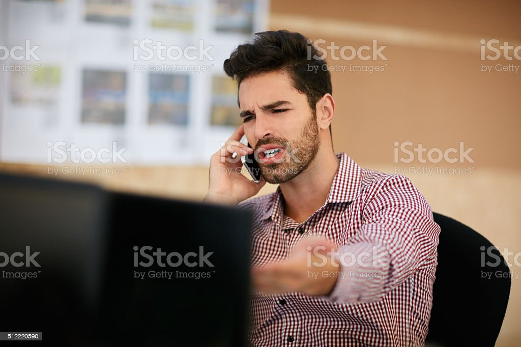Look at this! stock photo